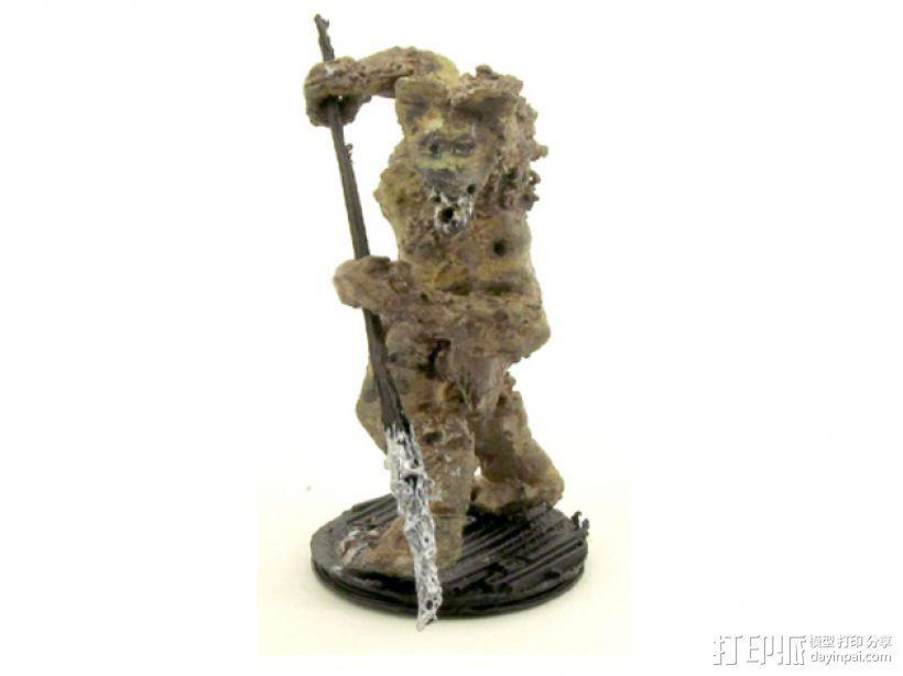 豺狼战士 3D模型  图4