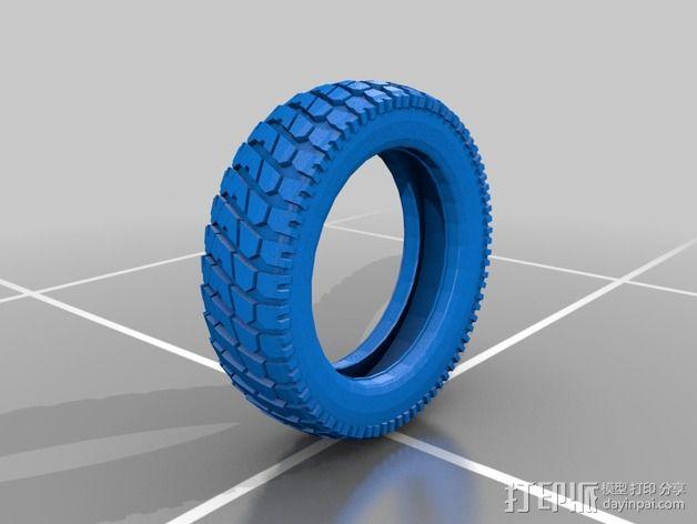 轮胎  3D模型  图2