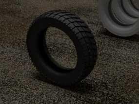 轮胎  3D模型