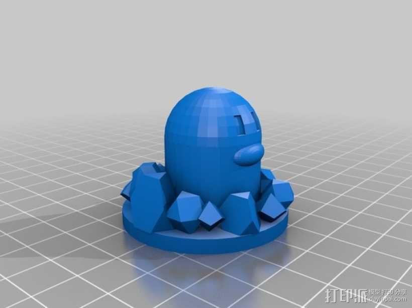 口袋妖怪 地鼠 3D模型  图4
