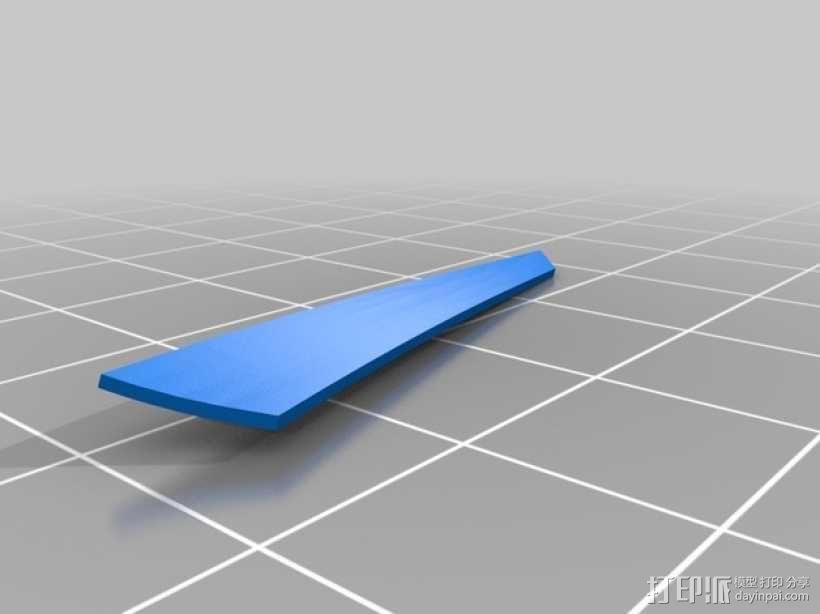 运动艇 3D模型  图3