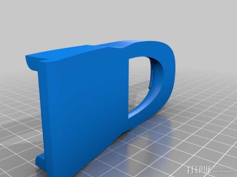 运动艇 3D模型  图6