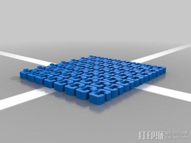 伺服链 3D模型  图2