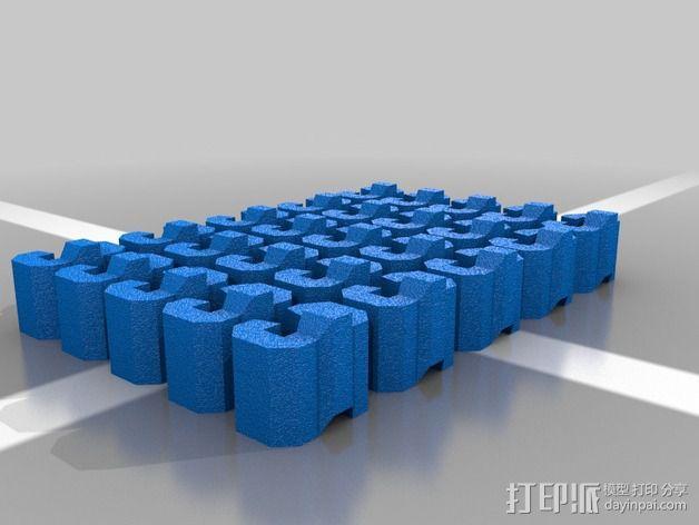 伺服链 3D模型  图4
