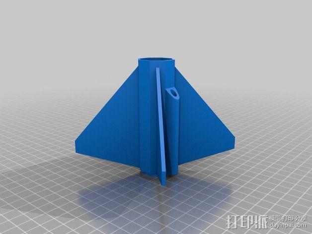 火箭 3D模型  图3