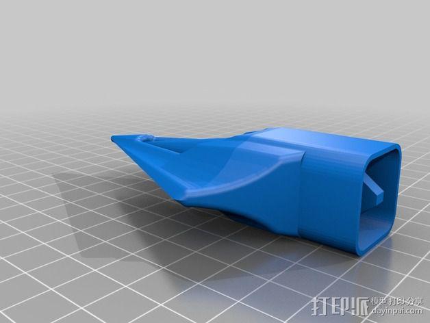 太空火箭模型 3D模型  图5