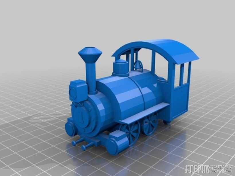 迪士尼蒸汽火车 3D模型  图5