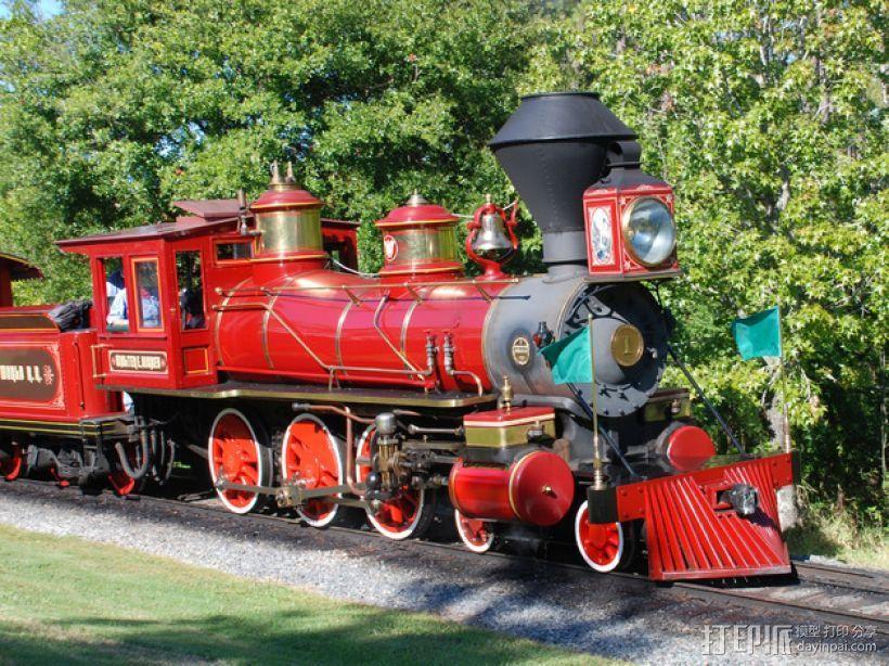 迪士尼蒸汽火车 3D模型  图6