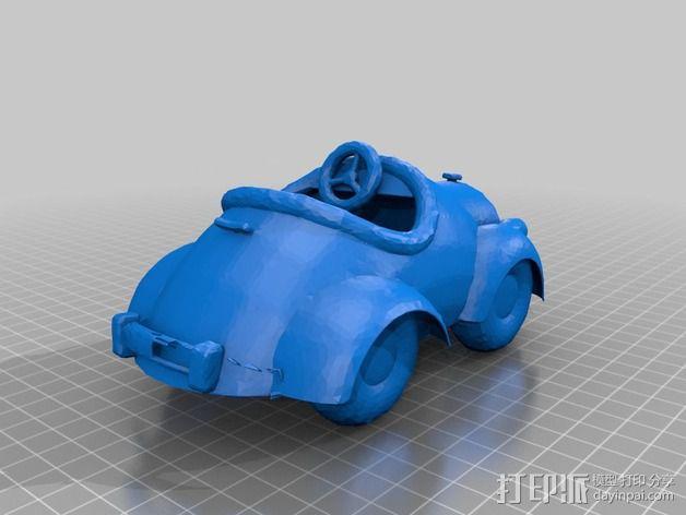 米奇汽车 3D模型  图3