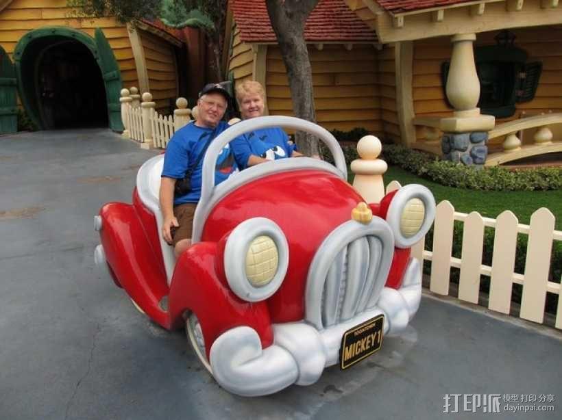 米奇汽车 3D模型  图5