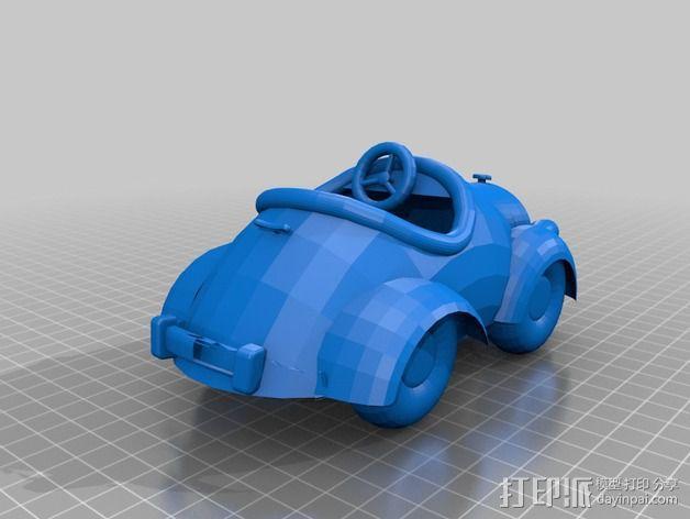 米奇汽车 3D模型  图4