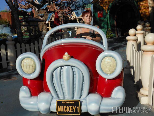米奇汽车 3D模型  图7
