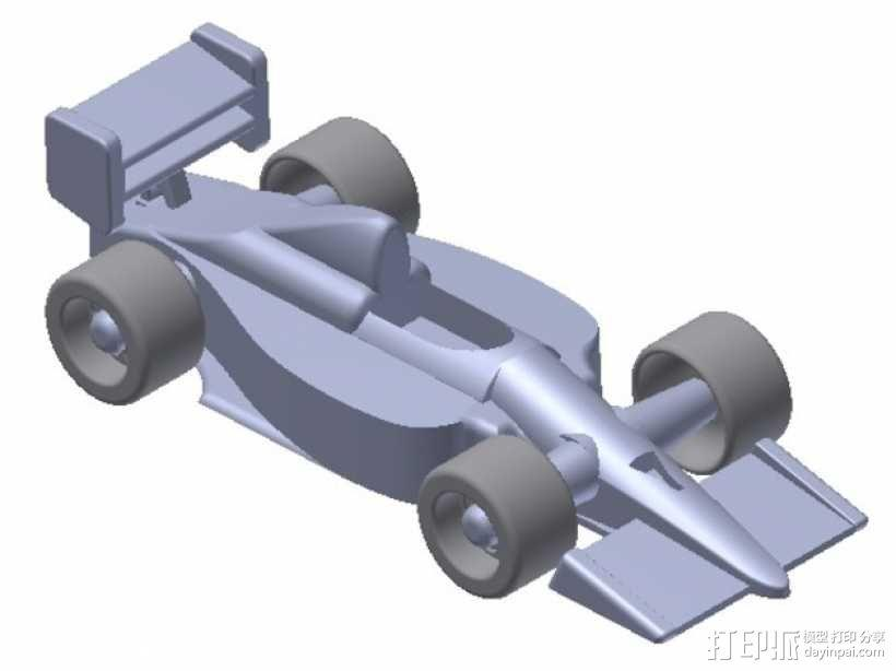 F1赛车 3D模型  图1