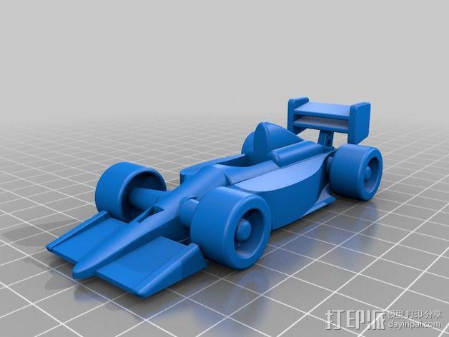 F1赛车 3D模型  图2