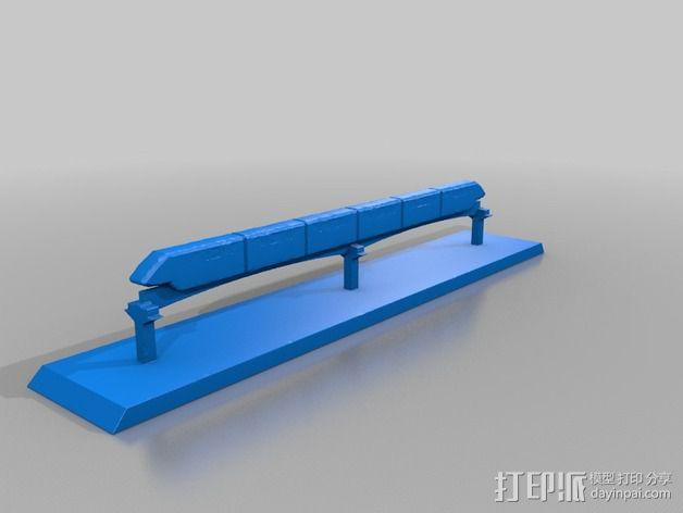 迪士尼乐园单轨铁路 3D模型  图4
