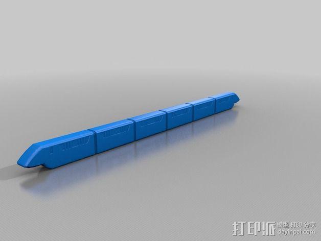 迪士尼乐园单轨铁路 3D模型  图6