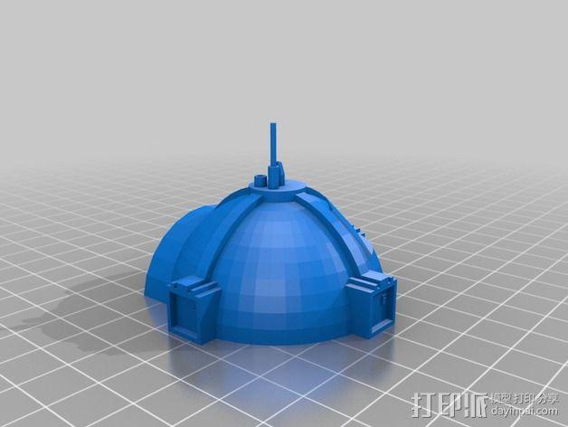 GALILEO伽利略火星基地 3D模型  图6