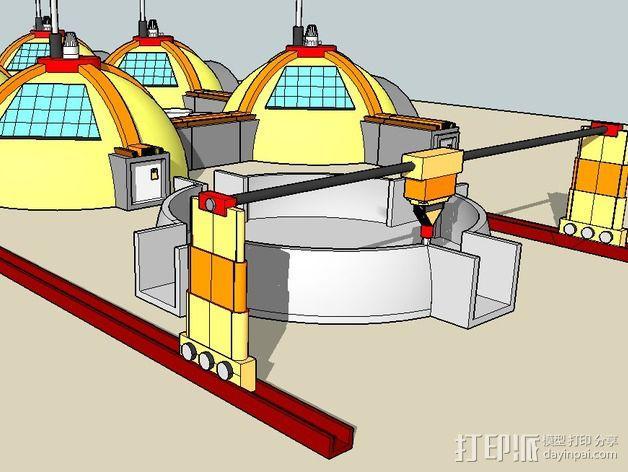 GALILEO伽利略火星基地 3D模型  图8