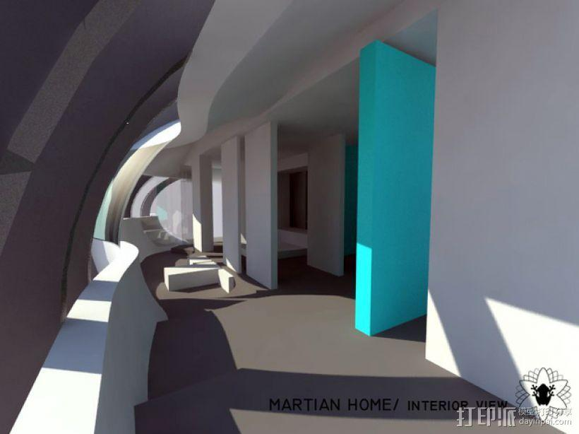 花形火星基地 3D模型  图10