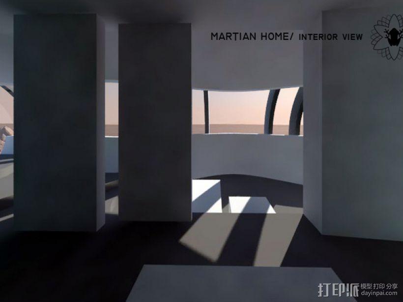 花形火星基地 3D模型  图11