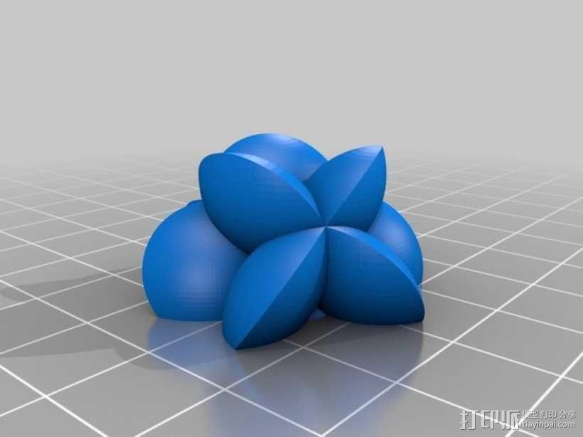 花形火星基地 3D模型  图15