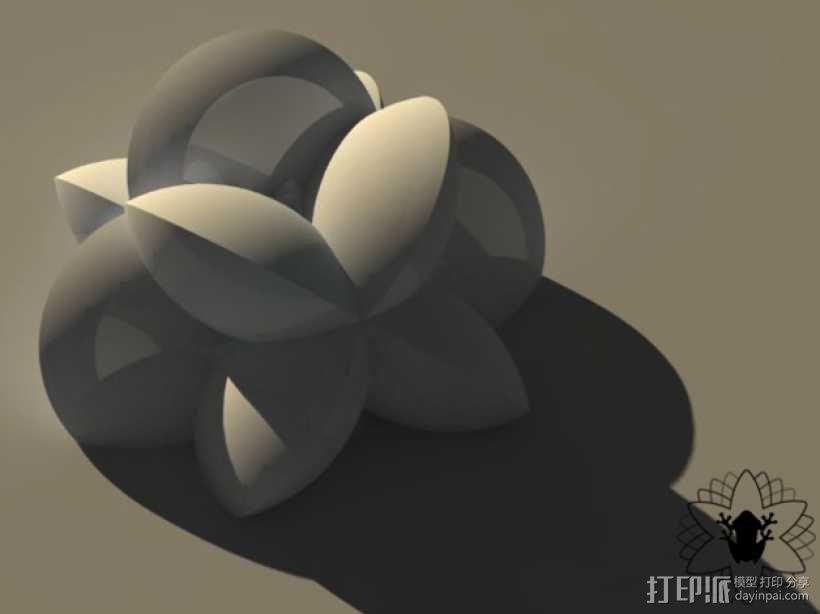 花形火星基地 3D模型  图13