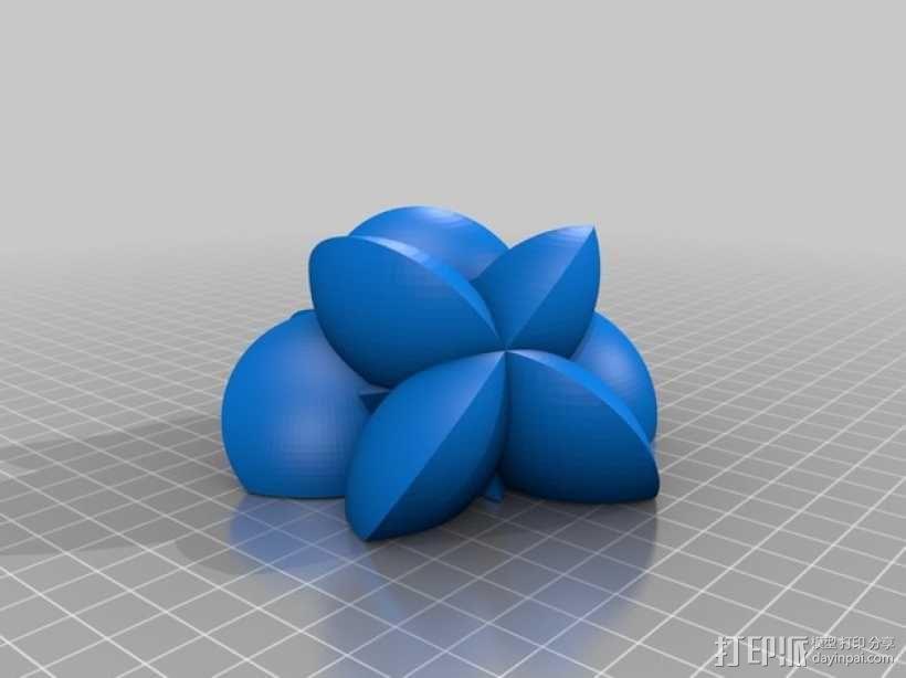 花形火星基地 3D模型  图16