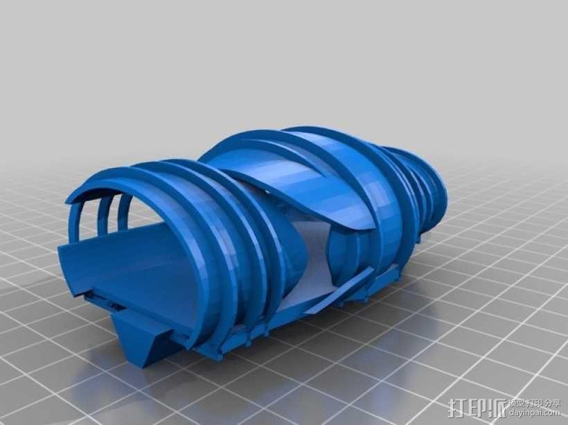 花形火星基地 3D模型  图18
