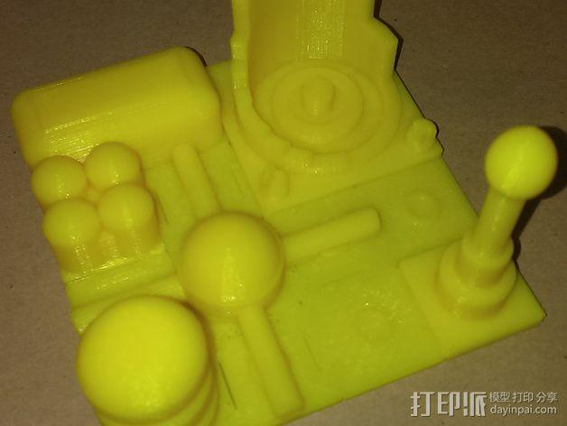 火星建筑 火星基地 3D模型  图2