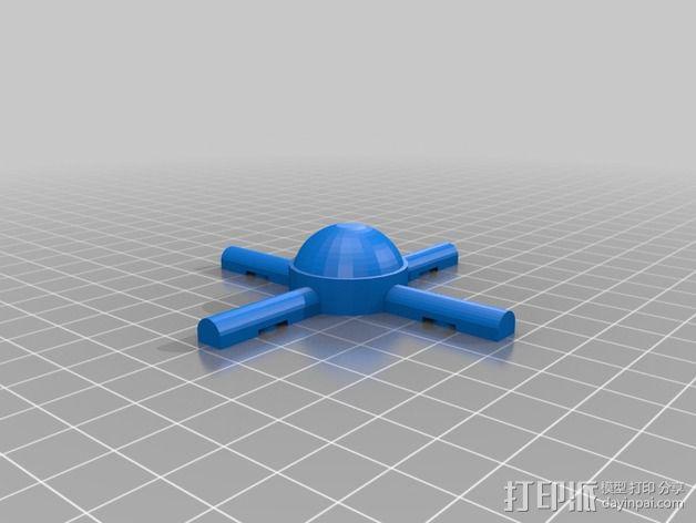 火星建筑 火星基地 3D模型  图5