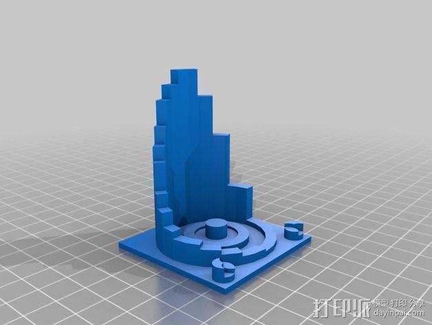 火星建筑 火星基地 3D模型  图7