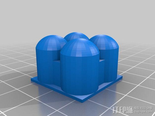 火星建筑 火星基地 3D模型  图6
