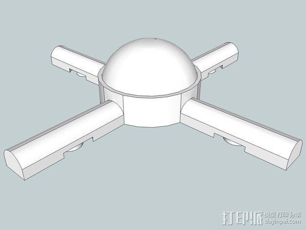火星建筑 火星基地 3D模型  图13