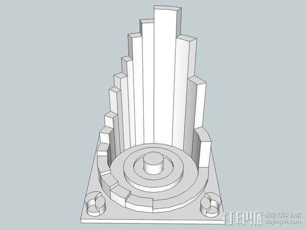 火星建筑 火星基地 3D模型  图15