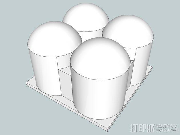 火星建筑 火星基地 3D模型  图14