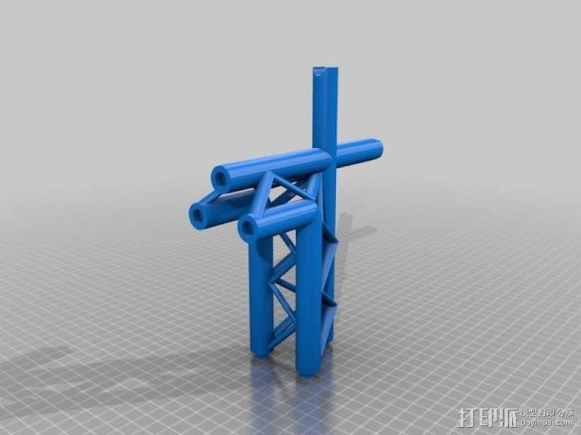起重机 3D模型  图1