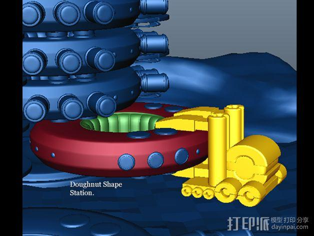 火星便携式基站 3D模型  图5