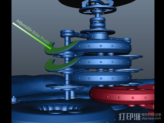 火星便携式基站 3D模型  图8