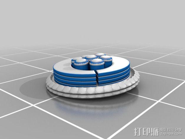 火星便携式基站 3D模型  图13