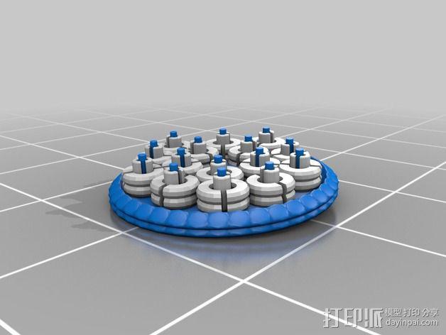 火星便携式基站 3D模型  图16