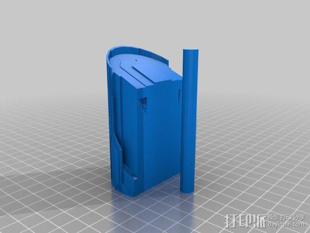星际之门轻型飞船 3D模型  图3