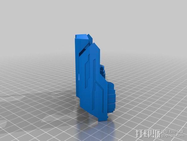 星际之门轻型飞船 3D模型  图4