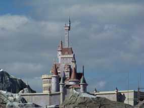 美女与野兽城堡 3D模型