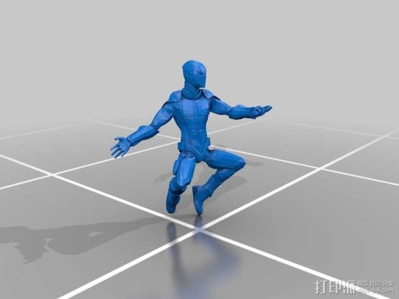 蜘蛛侠 3D模型  图1