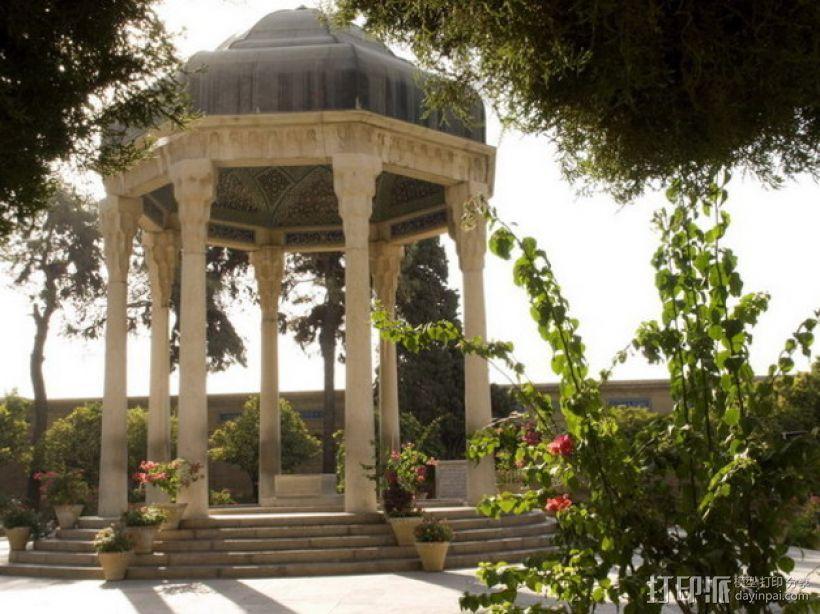 Hafez哈菲兹之墓 3D模型  图1