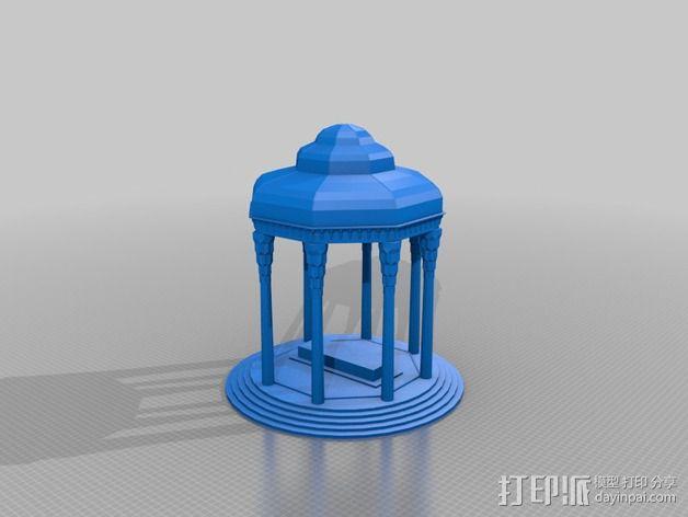 Hafez哈菲兹之墓 3D模型  图2
