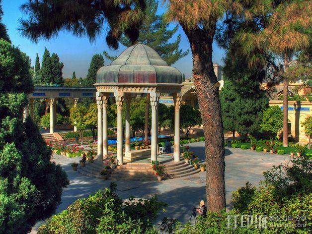 Hafez哈菲兹之墓 3D模型  图4