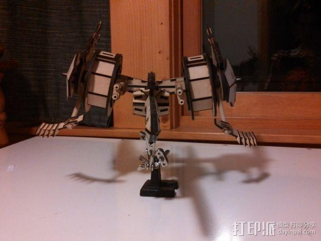 斑鸠战斗机 3D模型  图5