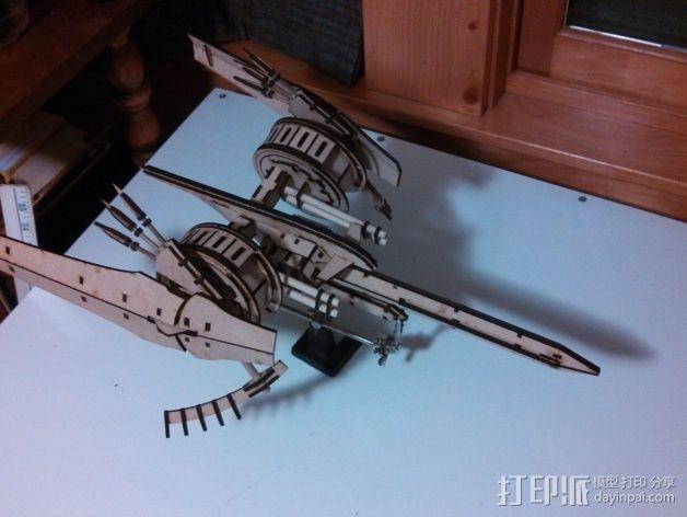 斑鸠战斗机 3D模型  图6