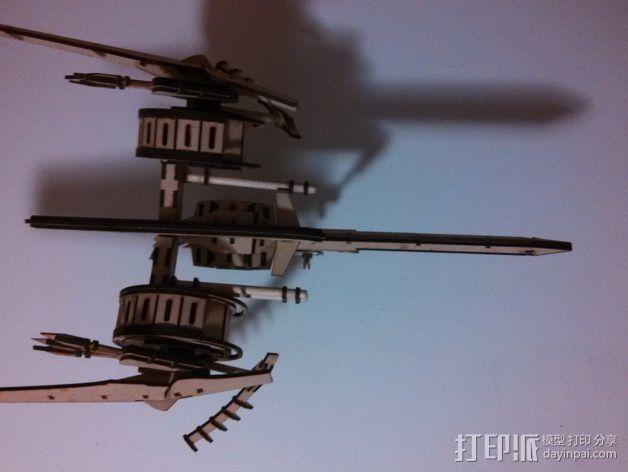 斑鸠战斗机 3D模型  图7